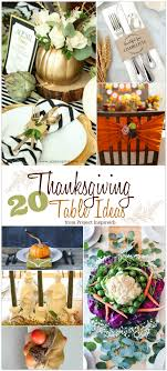 20 ways to make your thanksgiving table special an