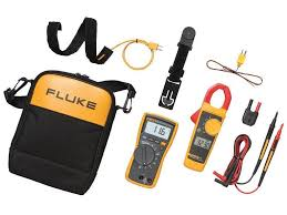 fluke 116 323 kit multimeter and clamp meter tequipment net