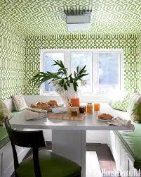 7 genius ways to use wallpaper trellis wallpaper breakfast