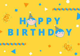 birthday card templates by canva