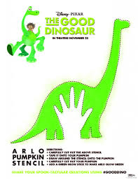 cartoon pumpkin stencil the good dinosaur pumpkin stencil coloring sheets and more