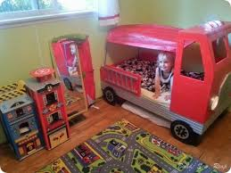 fire truck toddler bed hometalk