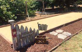 new bocce ball court bocce ball court pinterest bocce ball