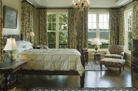 master bedroom decorating ideas with beautiful curtains and drapes
