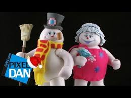 fun frosty snowman crystal figure video review