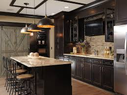Contemporary Kitchen Faucets Wood Cabinets Quartz Countertop Neutral Colors Modern Kitchen