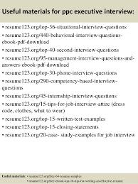 executive resume pdf top 8 ppc executive resume sles