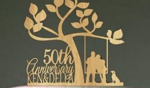 50th cake topper best 50th wedding anniversary cake topper cake decor food photos
