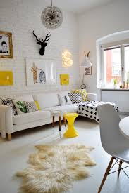 Anthropologie Inspired Living Room by Sunny Side Up Yellow Black Living Room Ideas And Yellow