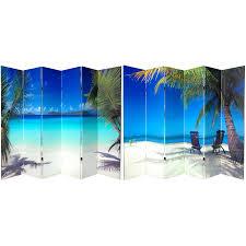 6 panel room divider 6 ft tall beach room divider 6 panel roomdividers com