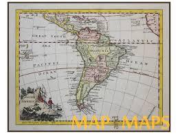 Map Of Southern Spain South America Antique Map Jefferys 1770 Mapandmaps