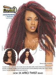 afro twist braid premium synthetic hairstyles for women over 50 janet collection noir 3x afro twist crochet braid