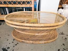 Rattan Coffee Table Wicker Coffee Table Circa Who