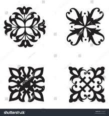ornamental designs stock vector 1419225