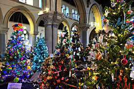 pictures christmas tree festival goes on display at st laurence