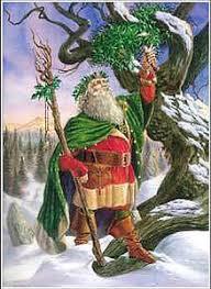 santa claus and the origin of the christmas tree pole spirits