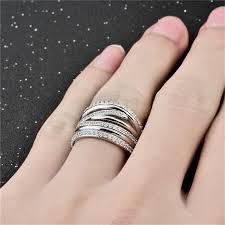 big silver rings images Genuine 925 sterling silver rings for women wholesale silver big jpg