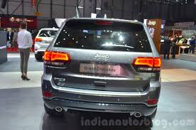 jeep cherokee back jeep grand cherokee 75th anniversary edition rear at the 2016