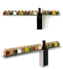 Wooden Spice Rack Wall Stylish Wall Mounted Spice Rack For Your Kitchen Freshome Com