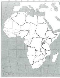 Africa Countries Map Quiz by Maps Blank Map Africa