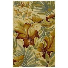 Hibiscus Rug Kas Rugs 9 X 12 Area Rugs Rugs The Home Depot