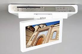 under cabinet tvs kitchen under cabinet television for kitchen best small tv for kitchen love your kitchen under cabinet