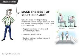 Desk Exercises At Work Wellness Tips