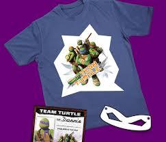 teenage mutant ninja turtles fan club exclusive offer