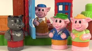 mega bloks les trois petits cochons et le loup 3 little pigs