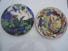 Antique Pair Of Royal Doulton Persian Vases Series Ware D3550 Decorative Plates In Product Type 21 Date 1920 1939 Art Deco