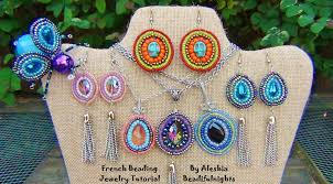 french beading jewelry tutorial youtube