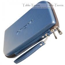 xiom table tennis shoes hard rc racket hard case blue