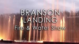 free christmas lights branson mo branson landing fountains christmas lights free fire water