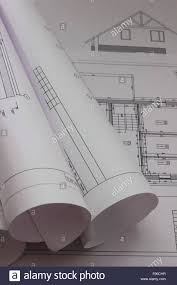 are a lot of drawings with plans of houses stock photo royalty