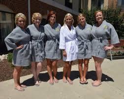 waffle robes for bridesmaids grey bridesmaid robe etsy