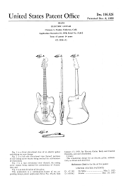 patent usd186826 electric guitar patents
