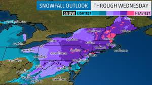 Snowfall Totals Map Snowfall Accumulation Map My Blog