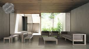 Patio Interior Design Modern Interior Courtyard Patio And Pool Furniture Design