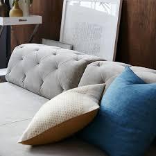 Tufted Sofa Sectional Tillary 2 Sofa Sectional Tufted West Elm
