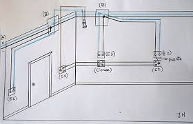 electrical scheme with three switches guide