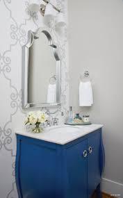 bathroom wallpaper border ideas bathroom best powder room ideas on bathroom designs
