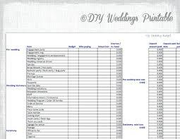 wedding budget wedding budget template excel wedding budget spreadsheet printable
