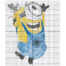 minion bee do coordinate plane graphing activity by middle school