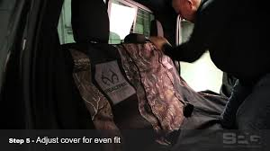 Realtree Bench Seat Covers Bench Seat Cover Installation Video Youtube