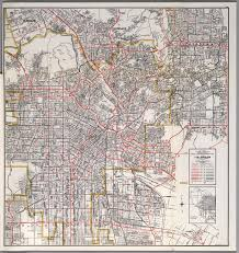 East Los Angeles Map by City Of Los Angeles East Central Section David Rumsey