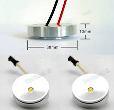 Thin Led Under Cabinet Lighting by Small Round 1w 3w 110v 120v 220v 12v 24v Under Cabinet Led
