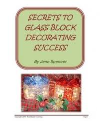 81 best glass block decorations images on pinterest glass blocks