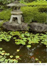 Zen Water Garden Zen Garden And Pond Stock Image I1767080 At Featurepics