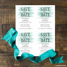 diy save the date magnets teal save the date magnets lia griffith