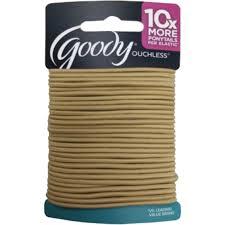 goody hair ties goody ouchless 2mm hair tie elastic 29 pk hair accessories